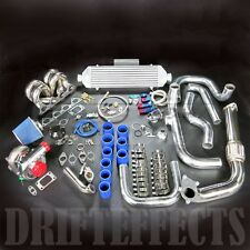REV9 CIVIC INTEGRA EG DC2 B16 B18 T3 T04E T3/T4 TURBO KIT RAM HORN EQUAL LENGTH