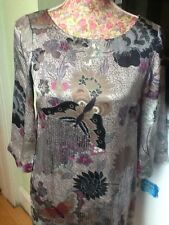 monsoon kai mai Tunic Dress size 8 exel Posting Daily Holiday 11/9
