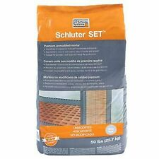 Schluter Set White 50 lbs Bag Unmodified Thin-Set Mortar