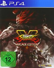 PS4 Game Street Fighter 5 V Arcade Edition New