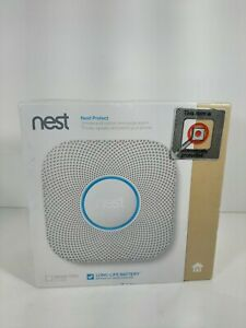 NIB Nest Protect Smoke And Carbon Monoxide Alarm Factory Sealed