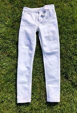"M/&s Per Una Blanc Roma Rise Stretch Jeans UK10 Regular inside leg 30/"" BNWT"