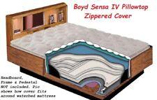 Boyd Final Quantity-Super Single Pillowtop Iv Waterbed Mattress Zipper Cover