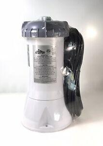 INTEX Krystal Clear Filter Pump Model 637R 1000 GPH  NEW SEALED THE WET SET ⭐⭐⭐⭐