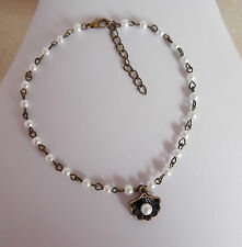 Alloy White Costume Anklets