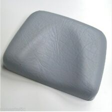 Poggiatesta in gomma colore grigio per lettini abbronzanti solarium estetica