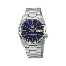 Seiko 5 SNKD99 Automatic Day-Date Blue Stainless Steel Men's 50m Watch SNKD99K1