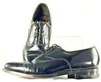 Florsheim Oxford Men's Sz 8.5 D Black Leather Lace Up Cap Toe Dress Shoes 619728