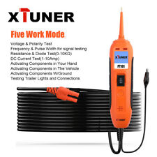 XTUNER PT101 12V 24V Electrical CircuIt Tester Auto Power Scan Diagnostic Tool