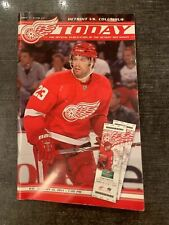 Red Wings Today Program - Detroit vs. Columbus Issue 3 Game 12 January 15, 2011