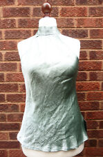 Rocha.John Rocha Lovely BNWT halter neck top satin party evening UK size 14