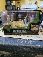 NECA The Exorcist Regan Possessed Motorized Head Spinning Figure Reel Toys 2010