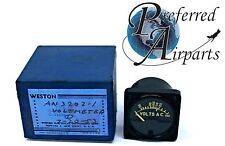 Weston Electrical Instruments Voltmeter Part Number AN3202-1