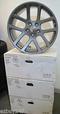 "22"" Dodge Ram 1500 SRT10 Style Set of Four New Gunmetal Wheels Rims 2223"