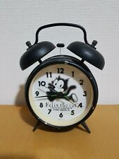 Felix the Cat Vintage 1988 Twin Bell Alarm Clock - Citizen Japan - Retro