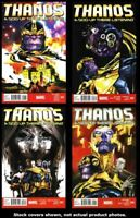 Thanos: A God Up There Listening 1 2 3 4 Complete Set Run Lot 1-4 VF/NM