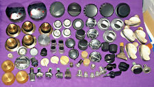Lot of Radio Stereo and Range Knobs some Vintage and Auto