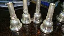 Genuine Schilke 57 Large Shank 24K Gold Trombone Mouthpiece