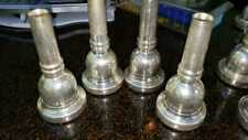 Genuine Schilke 58 Large Shank 24K Gold Rim /& Cup Trombone Mouthpiece