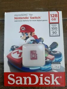SanDisk Official Nintendo Switch & Lite Micro SD SDXC Memory Card 64/128/256gb