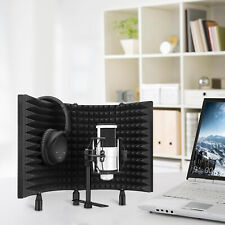 Aokeo Studio Microphone Isolation Shield Soundproof Filter Recording Foam Panel