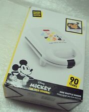 New In Box - Disney Mickey Mouse 90th Anniversary Mini Waffle/Belgian Maker