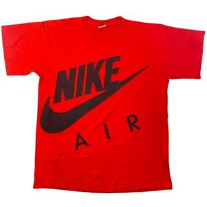 Vintage Nike Air gray tag single stitch double sided reverse print tee shirt XL