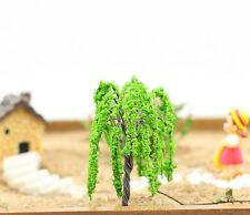 6 pcs Miniature Willow Tree Hand Made Terrarium Tree Fairy Garden Accessories