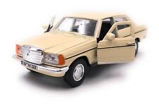 Mercedes Benz E-Class W123 Beige Model Car with Desired License Plate Scale 1:3