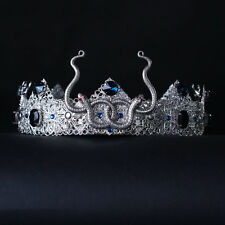 SNAKES SILVER GOTHIC MALE CROWN Hair Accessories gothic mens crown king crown