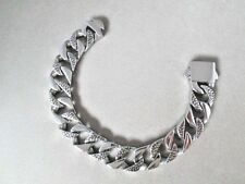 Bracelet 8.5 in. x 15 mm New Chunky Curb Chain Stainless Steel 316 Never Tarnish