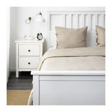 Ikea Puderviva Twin Duvet Cover Set Natural Tan 100% Breathable Linen New Freesh