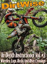DIRTWISE VOLUME 3 (Shane Watts) -  Wheelies, Logs, Rocks & Rivers - MX/FMX DVD