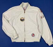 Sorbino jeans jacket uomo usato XL vintage denim giacca bianco giubbino T5712