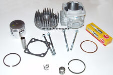 Mini Pocket Dirt Bike Cylinder Big Bore Upgrade 47cc 49cc COOLSTER QG-50 Parts