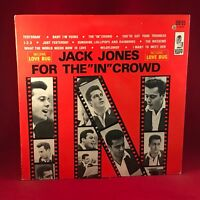 """JACK JONES What For The """"In"""" Crowd - 1968 USA  vinyl LP EXCELLENT CONDITION"""