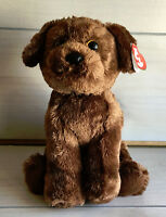 "A73 Ty Classics Harley Chocolate Lab Dog Plush! 12"" Stuffed Toy Lovey"