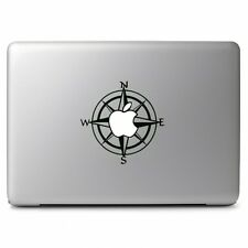 Apple Compass Vinyl Decal Sticker for Macbook Air Pro Laptop Car Window Wall Art