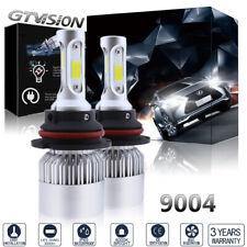 1400W 210000LM 3 Side LED Headlight Kit 9004 HB1 Hi/Lo Beams 6000K White Bulbs