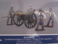 Perry Miniatures/History Works - Painted Confederate Artillery 50023 28mm