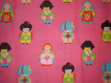 SWEET RUSSIAN DOLL/ JAPANESE / GIRL Fabric (50cm x 50cm)
