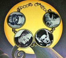 Frankenstein Bracelet Shelley Kitsch Rétro Vintage horreur goth psychobilly Mariée