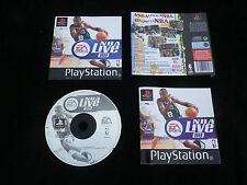JEU Sony PLAYSTATION PS1 PS2 : NBA LIVE 99 (sports, basket ball COMPLET suivi)