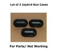 Lot of 3 Jaybird Run True Wireless Charging Cases For Parts/ Not Working
