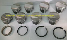 Speed Pro/TRW Chevy 454 LS6 30cc Dome Coated Forged Pistons+RACE Rings 030