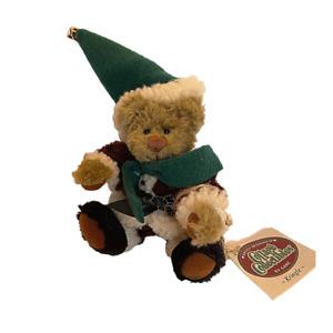 Vintage Ganz Cottage Collectibles Teddy Bear Kringle Christmas Lorraine Chien