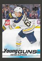 2019-20 Upper Deck Young Guns Victor Olofsson Rookie # 207 NM/MT RC