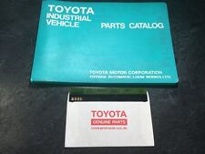 Toyota Forklift 3FG60 Parts & Shop Manuals Lift Truck 2F Gas LPG Propane 3FD50