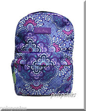 VERA BRADLEY Lighten Up Just Right Backpack - Lilac Tapestry NWT