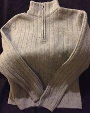 Timberland Half-Zip Pullover Sweater Men's S/P(Gray)80% Lambs Wool/20% Acrylic